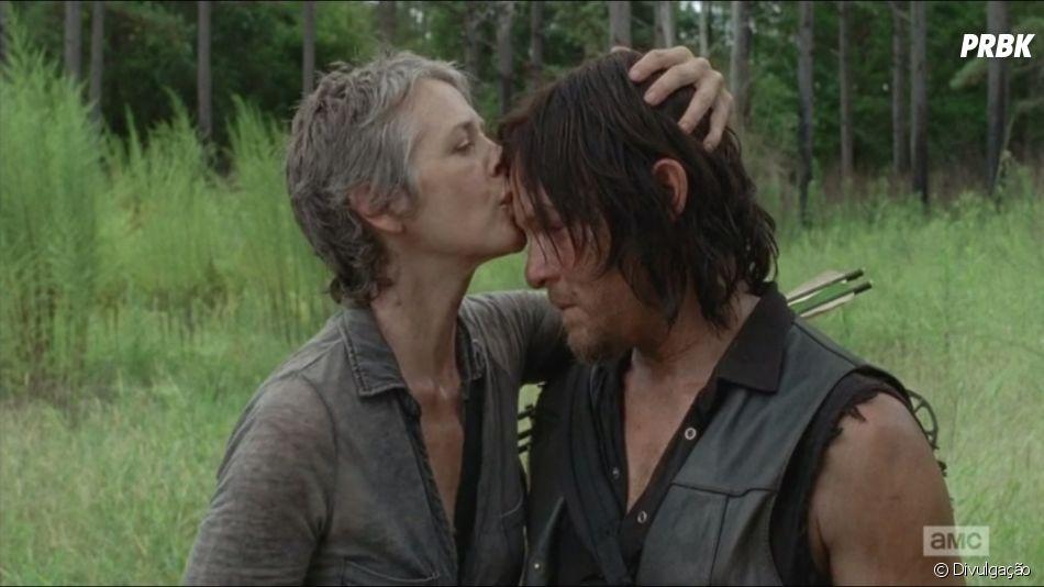"""""""The Walking Dead"""": Daryl (Norman Reedus) e Carol ( Melissa McBride) têm conexão especial, diz showrunner"""