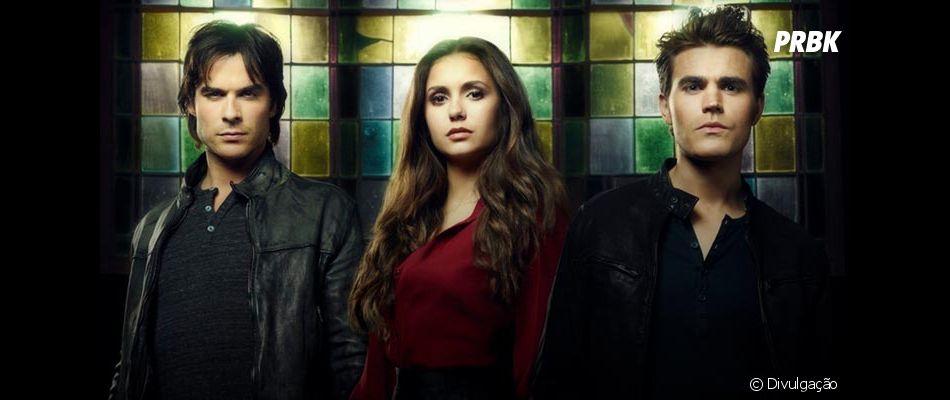 """""""The Vampire Diaries"""" teve seu primeiro episódio exibido no dia 10 de setembro de 2009"""