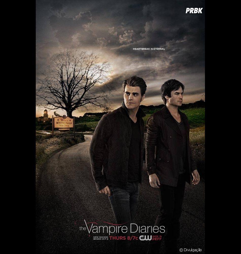 """""""The Vampire Diaries"""" chegou ao fim em 2017"""
