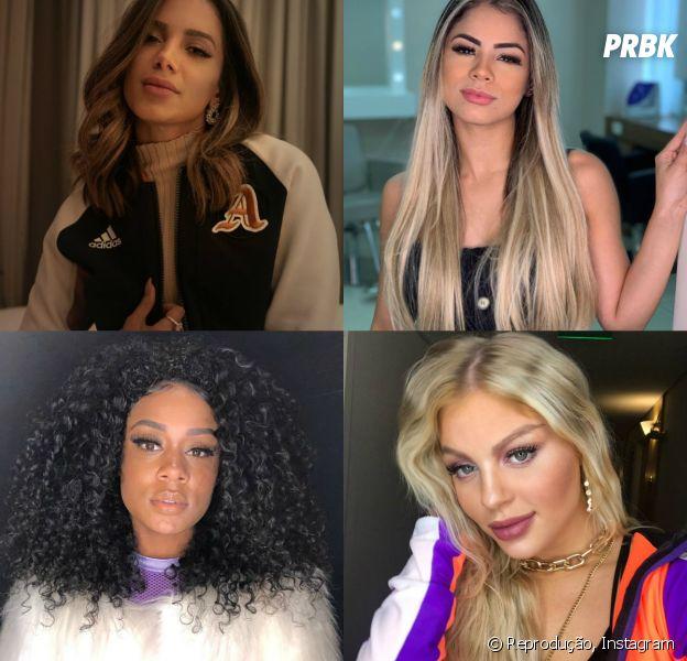 Parceria entre Anitta, Luísa Sonza, Lexa e MC Rebecca? De acordo com jornal vai acontecer