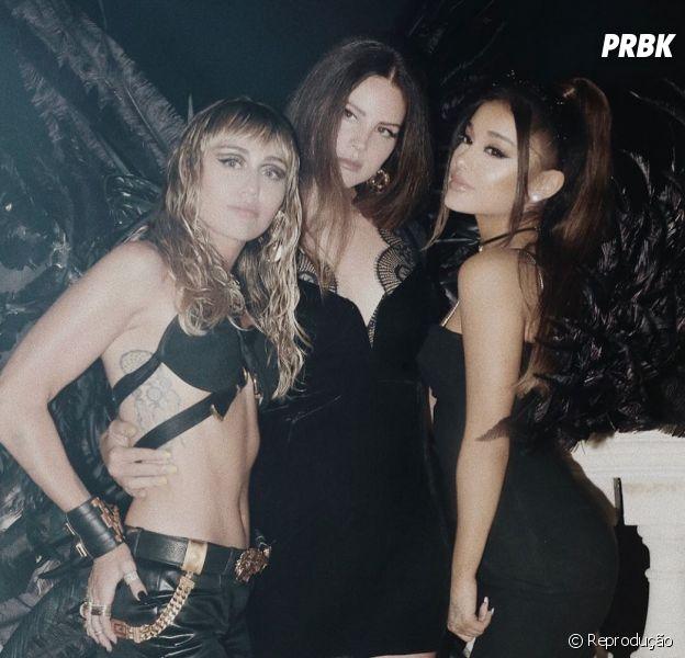"""Ariana Grande, Miley Cyrus e Lana Del Rey não são as únicas parcerias icônicas do álbum de """"As Panteras"""""""