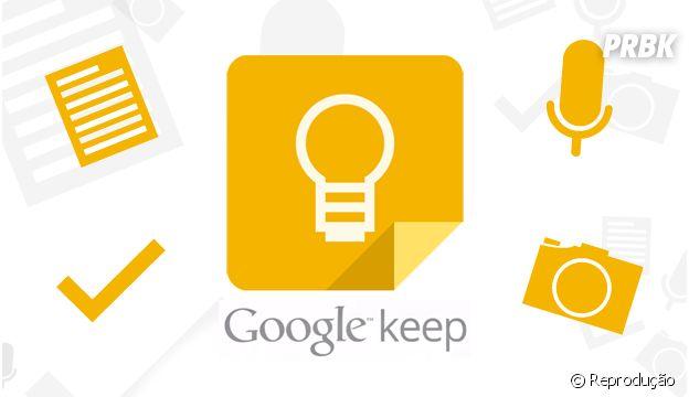 Conte com o Google Keep para te ajudar na organização da sua vida
