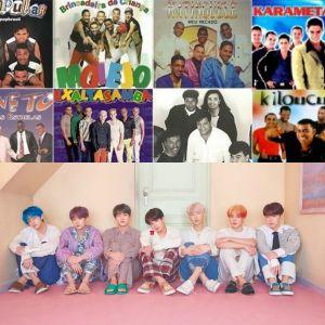Tente adivinhar se estes trechos de músicas são do BTS ou de pagodes dos anos 90