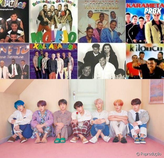 BTS ou pagode dos anos 90? Descubra de quem são estes trechos de música