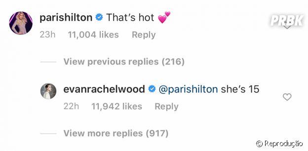 Paris Hilton comenta em foto de Millie Bobby Brown e gera polêmica