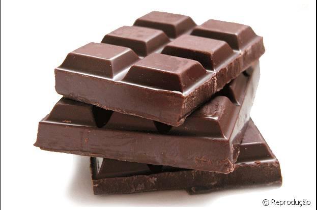 Comer chocolate faz bem à saúde