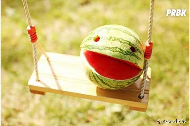Comer melancia ajuda a manter o bom-humor