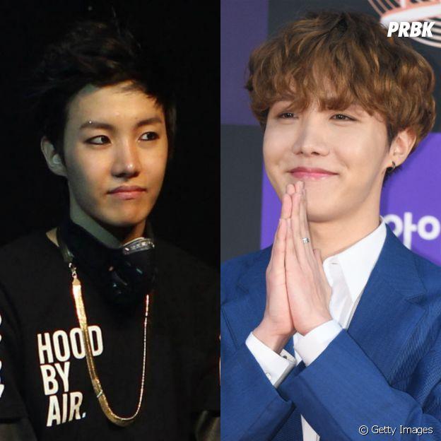 BTS:Jung Hoseok nem parece que é a mesma pessoa, OMG!