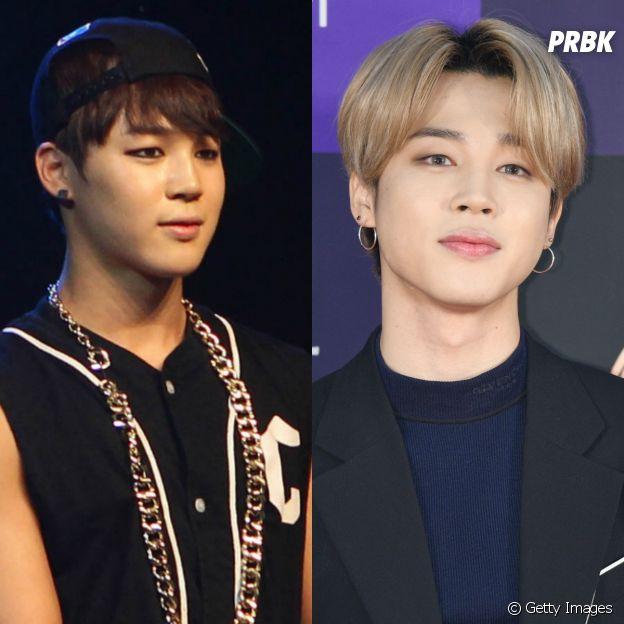 BTS:Park Jimin praticamente é uma outra pessoa