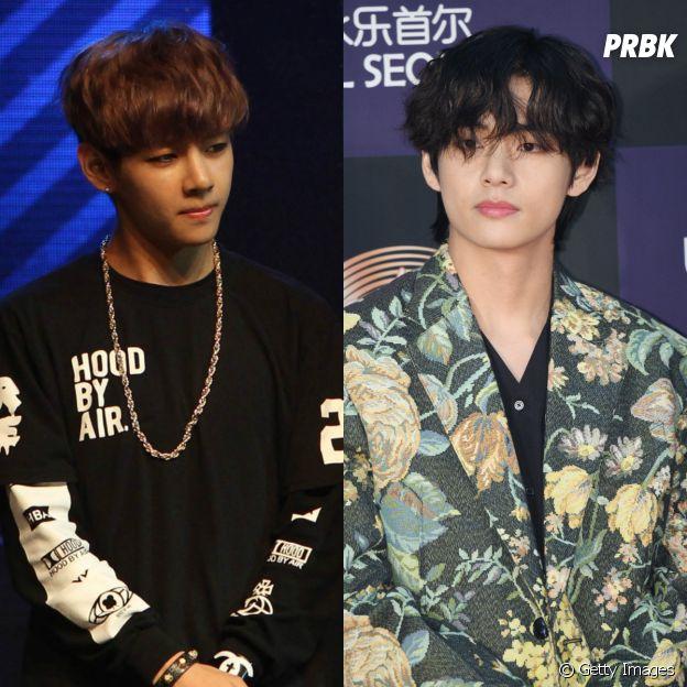 BTS:Kim Taehyung cresceu e apareceu, não é mesmo?
