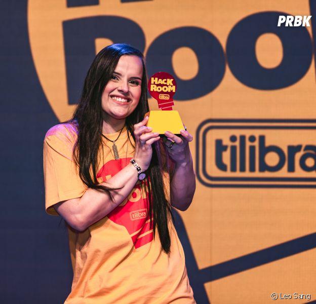 Hack Room Tilibra:Yasmin Werneck, desenvolvedora do Meeple, foi a grande vencedora