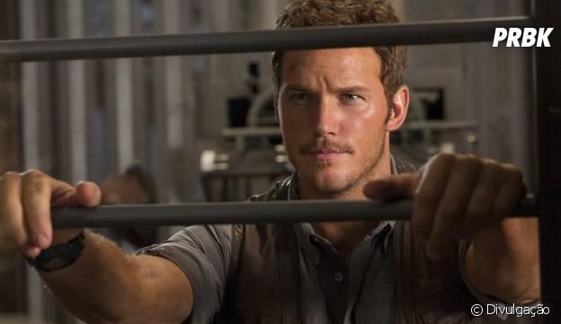 """Chris Pratt (""""Guardiões da Galáxia"""") é o protagonista de """"Jurassic World"""""""