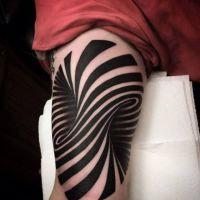 9 tatuagens com ilusões de ótica que vão dar um nó na sua cabeça