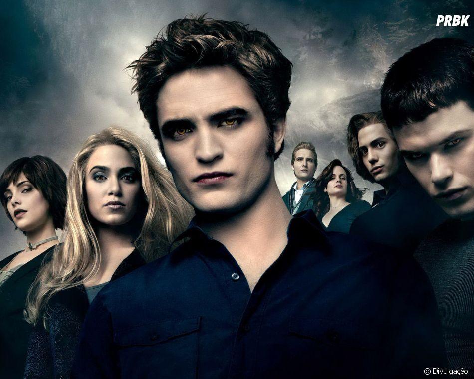 """A Saga Crepúsculo"": a família Cullen era composta por Edward (Robert Pattinson), Alice (Ashley Greene), Rosalie (Nikki Reed), Emmett (Kellan Lutz), Jasper (Jackson Rathbone), Carlisle (Peter Facinelli) e Esme (Elizabeth Reaser)"