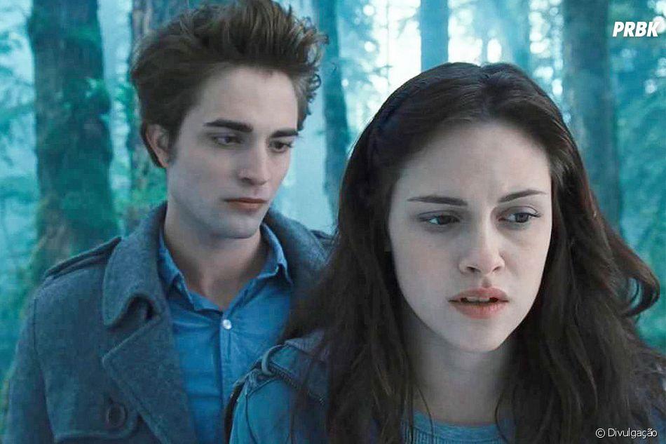"""Crepúsculo"" foi lançado em 2008 e mostra o início da história de amor entreBella (Kristen Stewart) eEdward (Robert Pattinson)"