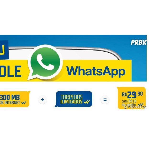'Controle WhatsApp' é um plano da TIM voltado pra galera que não desruda do aplicativo