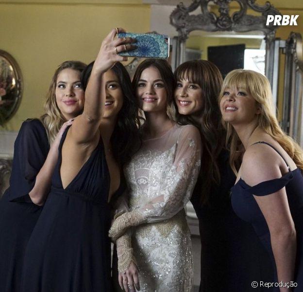 """""""Pretty Little Liars"""": veja tudo o que rolou na live do elenco nesta sexta (15)"""