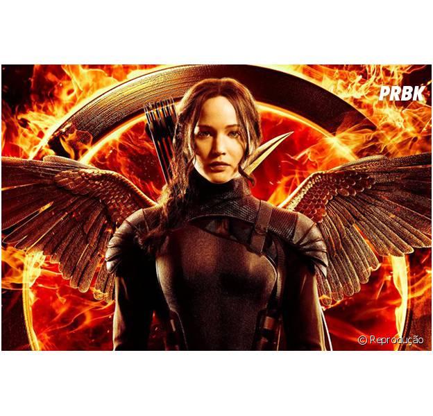 Katniss cantando a trilha sonora de Jogos Vorazes - A Esperança