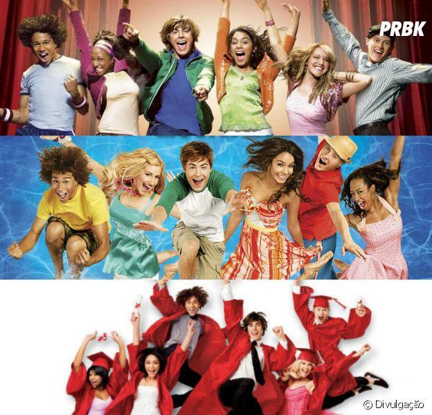 """Disney Channel vai exibir todos os filmes do """"High School Musical"""" em agosto. Saiba datas e horários"""