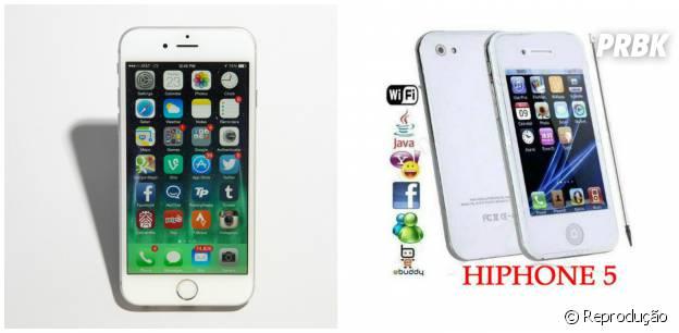 iPhone 6 custa R$3.199 e seus pais podem ter a infeliz ideia de comprar um Hiphone ou algo do tipo...