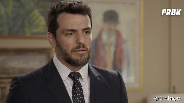 """""""A Força do Querer"""": Caio (Rodrigo Lombardi) fugiu dos seus sentimentos"""