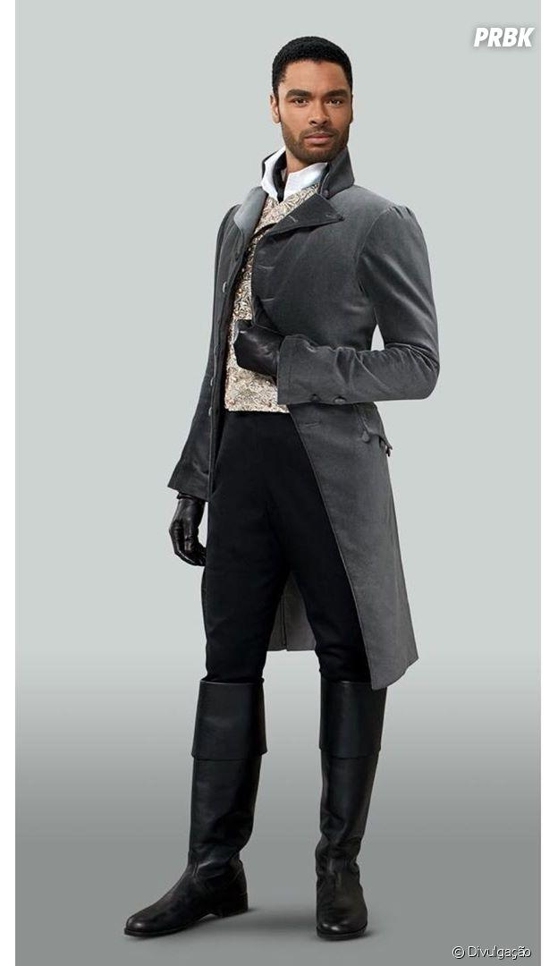 """""""Bridgerton"""":Regé-Jean Page é Simon, o Duque de Hastings"""