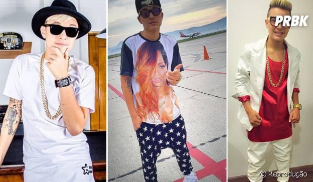 Mc Gui arrasa no estilo e escolhe suas próprias roupas