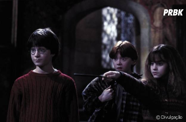 """Harry Potter"" conta com Daniel Radcliffe e Emma Watson no elenco"