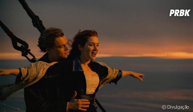 """Com Kate Winslet e Leonardo DiCaprio, """"Titanic"""" foi um grande vencedor do Oscar"""