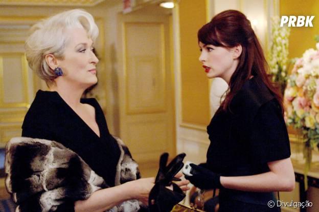 """""""O Diabo Veste Prada"""" tem Anne Hathaway no elenco"""
