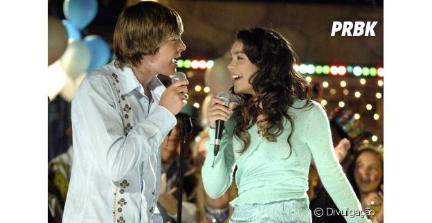 """High School Musical"" conta com Zac Efron e Vanessa Hudgens no elenco"