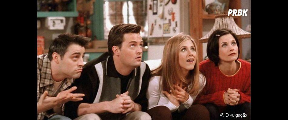 """""""Friends"""": sua vida amorosa pode ser resumida pelo título de algum dos episódios. Veja qual"""