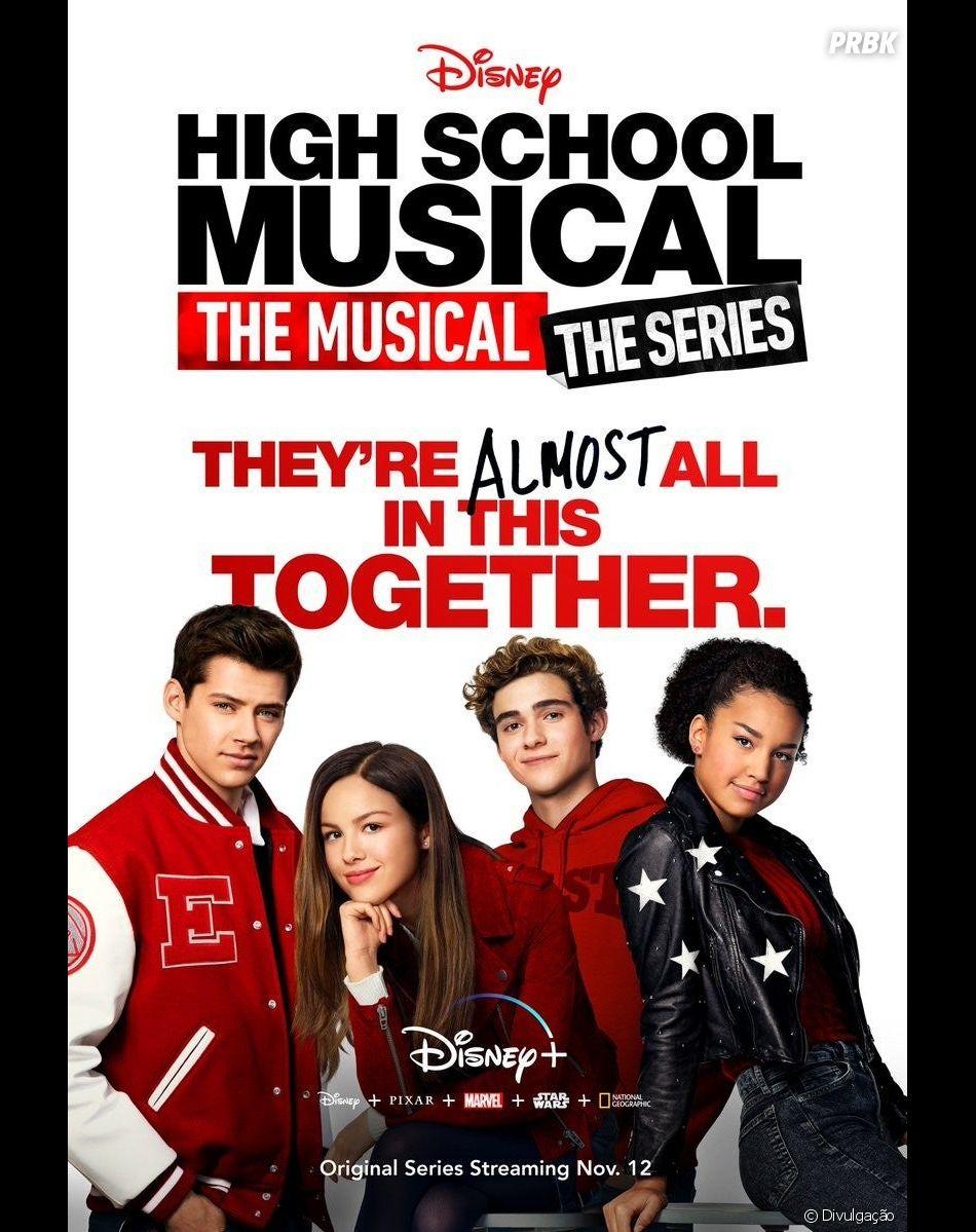 """""""High School Musical: The Musical: The Series"""" ficou disponível no Brasil em novembro de 2020, na plataforma do Disney+"""