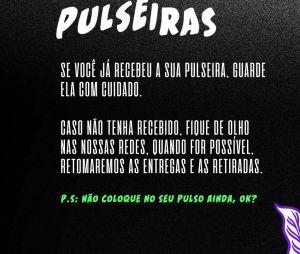Lollapalooza Brasil 2022: quem já está com ingresso físico ou pulseiras, basta matê-los bem guardados