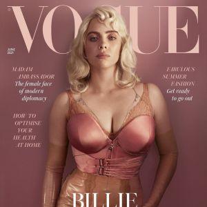 Billie Eilish quase deixou as redes sociais por conta da reação às suas fotos de lingerie na Vogue