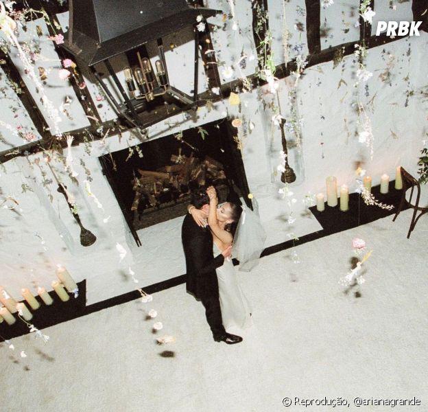 Ariana Grande e Dalton Gomez casaram: veja as fotos