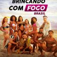 """""""Brincando com Fogo Brasil"""" é um reality show da Netflix"""