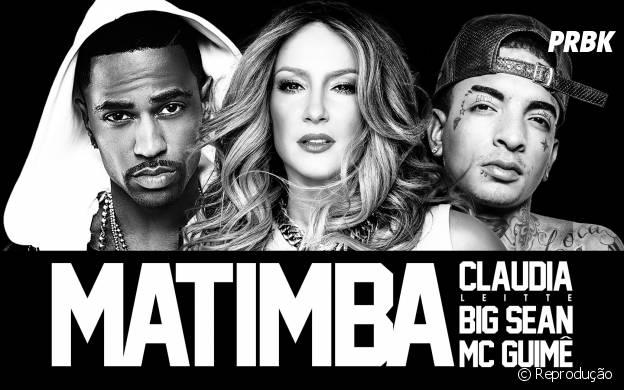 """Claudia Leitte, MC Guime e Big Sean estão juntos no hit """"Matimba"""""""