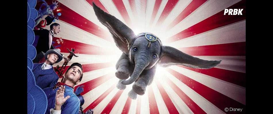 """""""Dumbo"""" é inspirado em animação clássica de 1941 e conta a história de um elefantinho de orelhas grandes demais e que encontra a chance de se libertar de um circo desumano que pratica maus tratos de animais."""