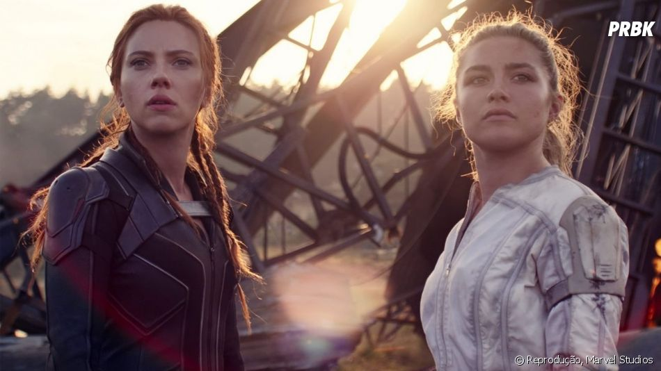 Natasha Romanoff (Scarlett Johansson) deve passar o manto de Viúva Negra para Yelena Belova (Florence Pugh)