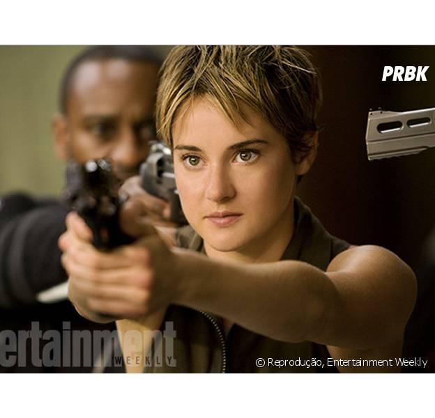 """Tris (Shailene Woodley) mostra que é super corajosa em nova imagem no longa """"Insurgente"""""""