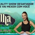 """Ilha Record"", da TV Record, apresentado por Sabrina Sato"