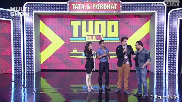 """No """"Tudo Pela Audiência"""", Zezé di Camargo e Luciano são os primeiros convidados da segunda temporada"""