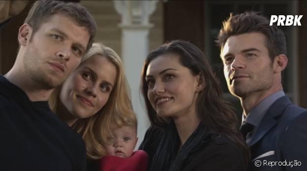"""Klaus (Joseph Morgan) finalmente se reúne com sua filha em """"The Originals"""""""
