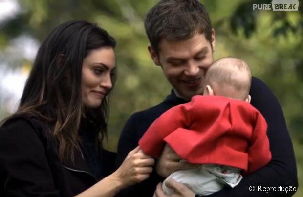 """Klaus (Joseph Morgan) ficou apaixonado ao rever Hope em """"The Originals"""""""