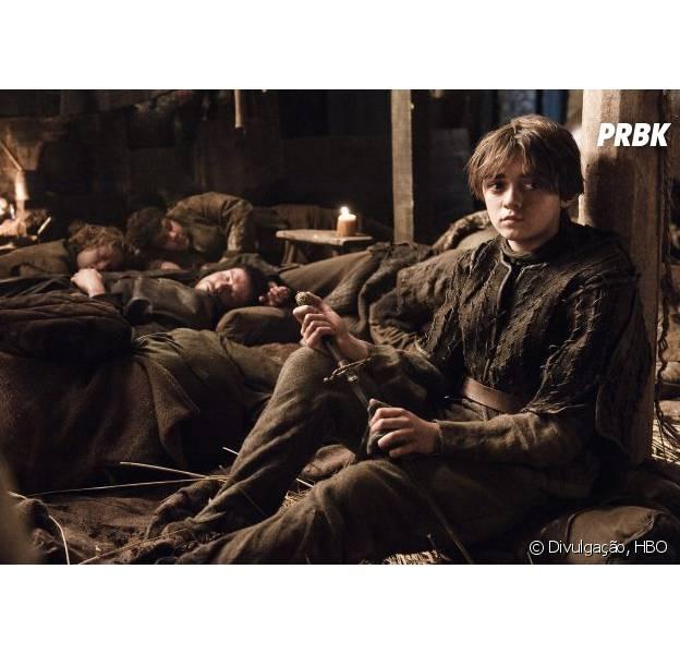 """Em """"Game of Thrones"""": Vazam na web dois novos teasers de """"Arya Stark"""""""