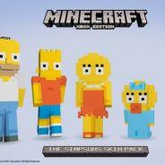 """Game """"Minecraft"""" + """"Os Simpsons"""": jogo ganha conteúdo do desenho para download"""