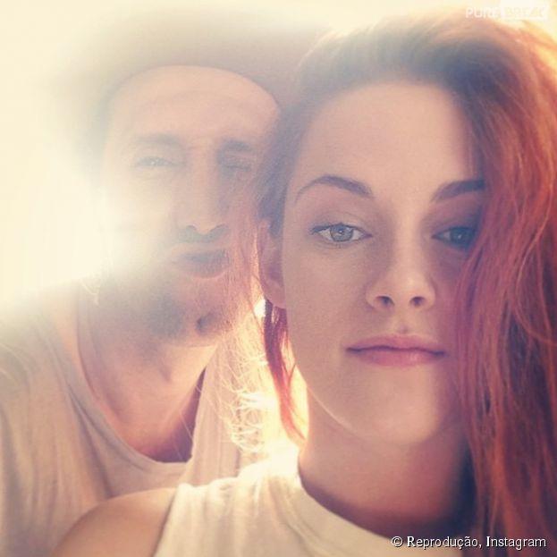 Kristen Stewart faz conta no Instagram