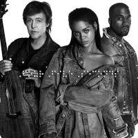 """Saiu clipe da Rihanna! Veja """"FourFiveSeconds"""" parceria com Kanye West e Paul McCartney"""