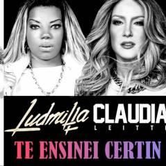 "Ludmilla lança ""Te Ensinei Certim"" com Claudia Leitte oficialmente no iTunes: ""Realizada"""